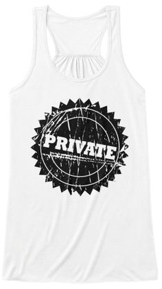 """Discover """"Protect Your Privates"""" Woman's Women's Tank Top from Tees' Top Shop, a custom product made just for you by Teespring. Funny Tank Tops, Funny Tees, Funny Tshirts, Funny Hoodies, Topshop, Just For You, Womens Fashion, T Shirt, Image"""