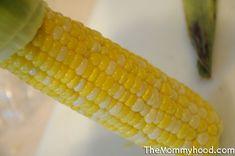 Microwaved Corn on the Cob