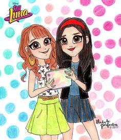 Fab & Chic delfi y jasmin Cartoon Girl Drawing, Pony Drawing, Girl Cartoon, Cartoon Drawings, Best Friend Drawings, Bff Drawings, Disney Drawings, Luna Anime, Image Fun