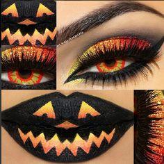 Halloween makeup<3