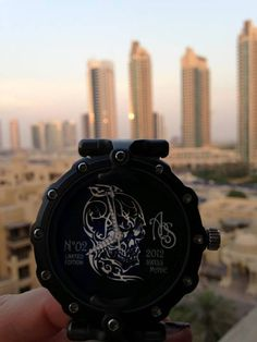 #AOSWatches Skull 2012 Limited Edition in Dubai