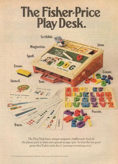 Fisher Price Play Desk