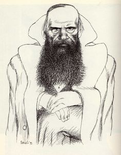 Tullio Pericoli   Fëdor Dostoevskij