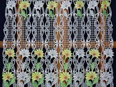 13 meilleures images du tableau brise bise macram embroidery macrame curtain et tier curtains. Black Bedroom Furniture Sets. Home Design Ideas
