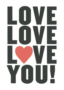 'Love You!', on Minted.com
