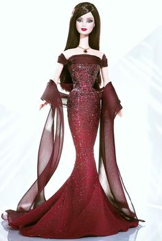 20003 Garnet Barbie The Birthstone Collection I'm a January baby nd this Barbie is 1 of my favs.