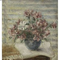 Título :Flores Artista :Annita Catarina Malfatti - Anita Malfatti - Anita Malfati Ano :1974 Técnica :Óleo sobre tela colada sobre madeira Dim. :48,5 x 45,5 cm