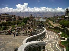 Parque de la Identidad Wanka en Huancayo, Junín