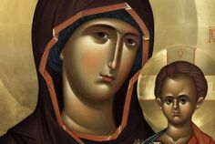 Religious Images, Religious Icons, Religious Art, Byzantine Icons, Byzantine Art, Face Icon, Religious Paintings, Biblical Art, Holy Mary