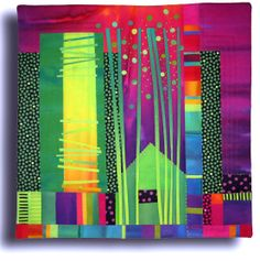 Treehouse V quilt by Melody Johnson