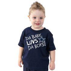 Dallas Cowboys Toddler Da Baby Luvs Tee