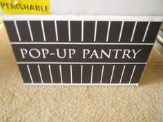 """""""The best thing about subscription boxes is trying out new things. One of those """"things"""" is Pop-Up Pantry"""""""