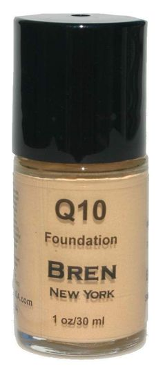 Foundation with Coq10 Bisque Minimizes Fine Lines and Smooth Out Wrinkles. Instant Face Lift. Anti-Aging Foundation. Minimizes Fine Lines. Provides Medium To Full Coverage.
