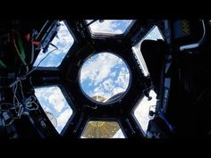 Space Station Fisheye Fly-Through 4K (Ultra HD) - YouTube