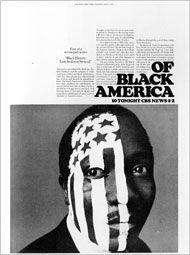 "CBS News, ""Black History: Lost, Stolen or Strayed"", Ad Design: Lou Dorfsman, 1968 Layout Design, Print Layout, Art Design, Design Web, Design Trends, Design Ideas, Milton Glaser, Massimo Vignelli, Herb Lubalin"