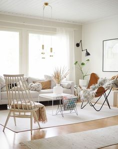 Home Decor – Decor Ideas – decor Scandi Style, Scandinavian Style, Stylish Home Decor, Living Spaces, Living Rooms, New Homes, Dining Table, Design Inspiration, House
