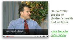 excellent holistic pediatrician.  Lawrence B. Palevsky, MD.  Long Island, New York