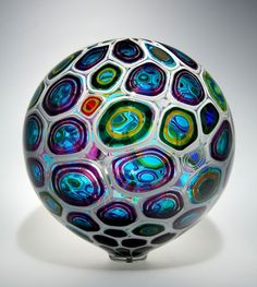 A piece from Patchen's Sphere series. I love the colors in this art glass.