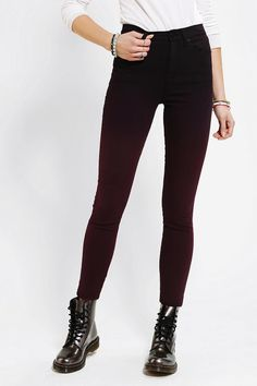 BDG Twig High-Rise Jean - Berry Ombre #urbanoutfitters