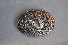 plata dragones-beer belt bucklehebillas  hebillas de por Limbhad