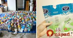 Kupujete mlieko v takýchto škatuliach? Neuveríte, aké užitočné môžu byť v záhrade aj v domácnosti!