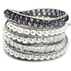 Misty Purple Wrap Bracelet – Ashley Jewels