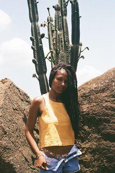 Mariana Caldas Photographed Bárbara Magalhanis for C-Heads #photography trendhunter.com