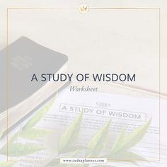 A Study of Wisdom