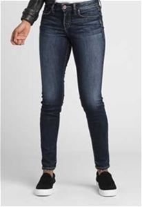 e541f8a6697 Images of Silver Jeans Suki Mid Rise Skinny Jeans for Women in Dark Wash  L93023SSX317-