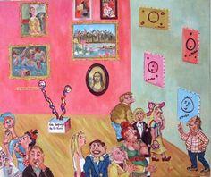 Vanitas Vanitatis - Huile sur toile - 54 x 65 cm. Vanitas, Naive Art, Gallery Wall, Painting, Collection, Decor, Oil On Canvas, Decoration, Painting Art