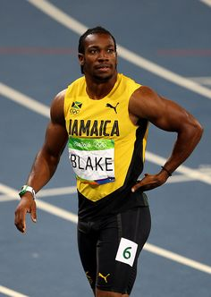 Yohan Blake of Jamaica reacts after competing in the Men's Semifinals on… Yohan Blake, Rio 2016 Pictures, 200m, West Indies, Jamaica, The Man, Black Men, Olympics, Athlete