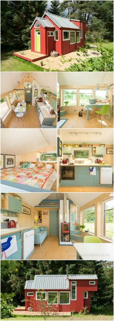 The Most Charming Tiny House in Scotland! You Have to See Inside Photos! {11 Photos} Tiny House Scotland has designed and built an incredibly charming tiny house called the NestHouse and we can't enough of it! Ranging from 107 to 320-square feet, it has everything you could need in a cute tiny package.