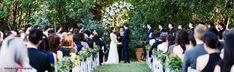 Texas garden wedding ceremony at Clark Gardens. Clark Gardens, Texas Gardening, Green Photo, Bowling, Garden Wedding, Photo Credit, Wedding Ceremony, Dolores Park, Marriage