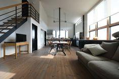 house-W-C 倉庫を住まいへコンバージョン | 創右衛門一級建築士事務所の建築事例 | SuMiKa | 建築家・工務店との家づくりを無料でサポート