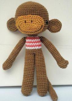 Amigurumi Tutorial Mono : AMIGURUMI - mono on Pinterest Monkey, Amigurumi and ...