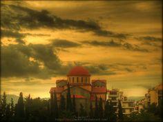 Church at peiraios street,athens. View from kerameikos park. Trinity by Kirlian667.deviantart.com on @deviantART