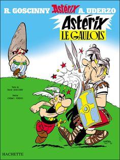 La couverture d'Astérix le Gaulois. Mon père l'avait reproduite sur une grande toile.