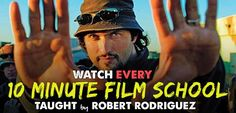 Before Youtube film schools there was the 10 minute film schools on every DVD release of any Robert Rodriguez film. These 10 minute film school...