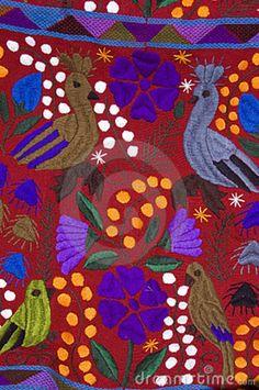 Antique Mexican textile