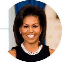 Who Is Barack Obamas Wife Michelle Obama was born as Michelle LaVaughn Robinson on January 1964 in Chicago, Illinois. Michelle was born in Michelle Obama, Lily Collins, Black Is Beautiful, Beautiful People, Gorgeous Women, Beautiful Things, Presidente Obama, American First Ladies, First Black President