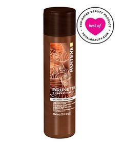 One of the best drugstore shampoos, too bad they were discontinued. Pantene Pro-V Brunette Expressions Shampoo.