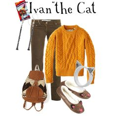 """""""Ivan the Cat - Peter and the Wolf"""" by marybethschultz on Polyvore"""