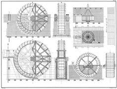 Dutch pumping windmill
