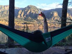 Cheers to the #HammockLife with #TrekLightGear. Tag a friend you know would love to be right here. : Stu Bailey