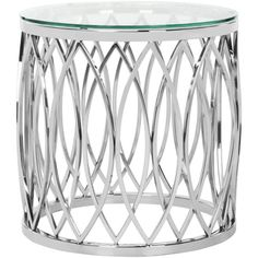 April Glass Top End Table design by Safavieh ($829) ❤ liked on Polyvore featuring home, furniture, tables, accent tables, end tables, polish furniture, glass top end tables, safavieh side table, safavieh furniture and safavieh