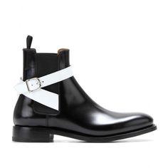 Leather Ankle Boots ∇ Balenciaga ☆ mytheresa