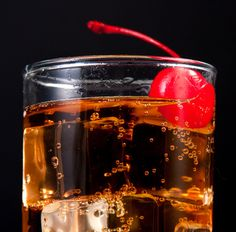 Black Cat 1 ounce vodka 1 ounce cherry brandy or cherry liqueur Cranberry juice Cola