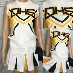 Cheerleading Uniforms, High School Cheerleading, Dance Uniforms, Cheerleader Fancy Dress, Girls Cheerleader Costume, Girls Club, Kids Girls, School Uniform Dress, Fancy Dress For Kids