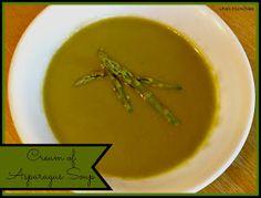 Utah Munchies: Skinny Cream of Asparagus Soup