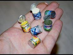 Консервы миниатюра / Canned miniature - YouTube
